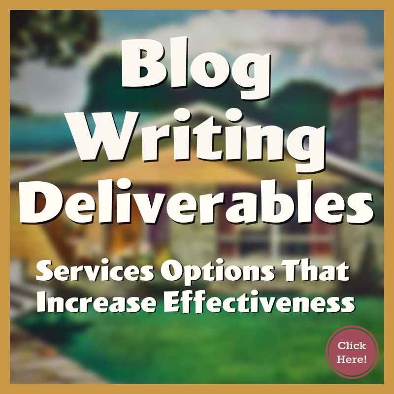 What Comes With Blog Writing Services
