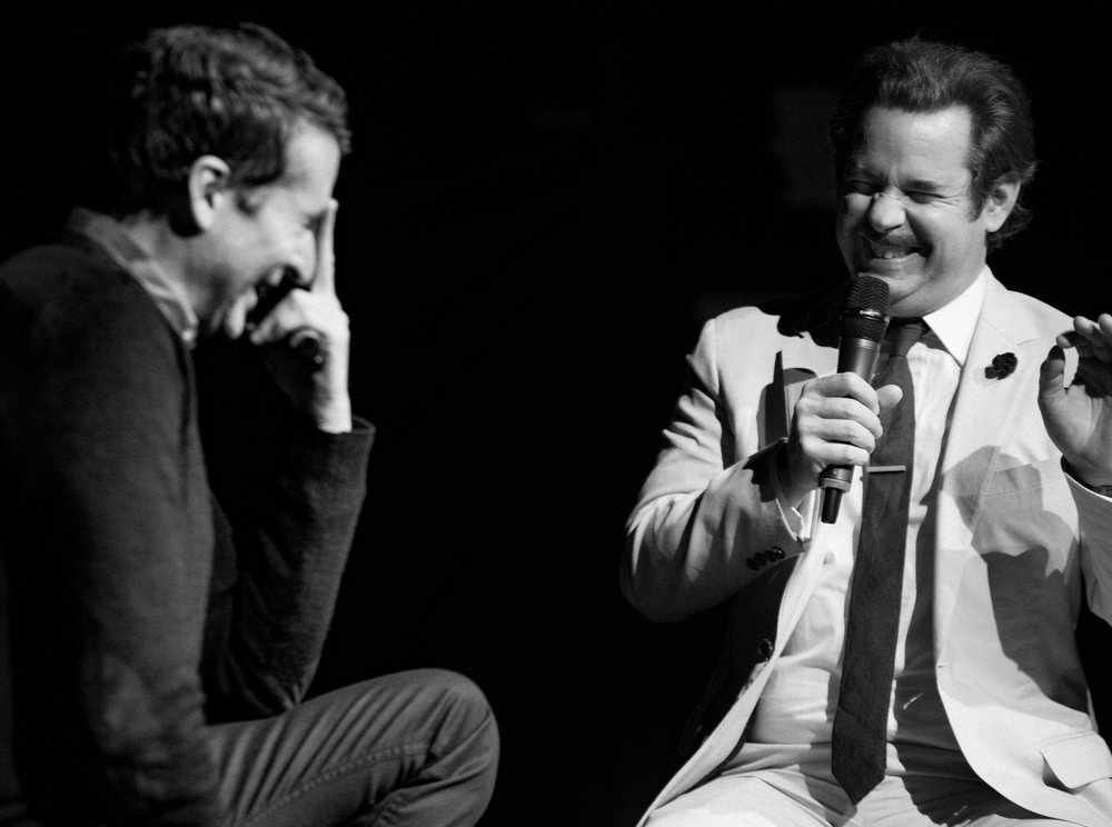 Scott Aukerman + Paul F. Tompkins