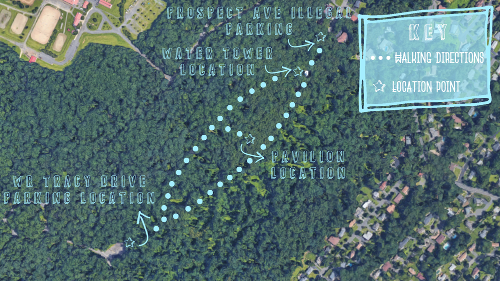 Watchung Water Tower Map.png