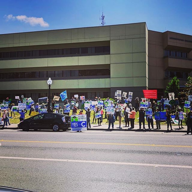 Never underestimate the #powerofthepeople 💪🏻 Many thanks to all who showed up in support of Measure C at today's rally outside the Napa County Offices. #YesOnC #RightSideOfHistory #NapaCounty #protect #NapaValley #AgPreserve . . . . #AmericanCanyon #Napa #Yountville #StHelena #Calistoga #citizenrights #waterrights #freshwater #watershed #winecountry #citizenaction #wine #winelover #waterlover #vineyards #forests #winecountry  #Repost @rhack_wco ・・・ Huge thank you to those who showed up and everyone who has supported #yesonc #protectnapawatersheds #protectourwatersheds #savetheoaks #saveourwatersupply