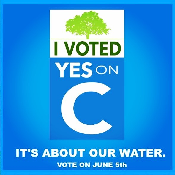 Have you voted YES on C yet? Well, we have and we are bragging about it! Join us in showing your support! Let all of your IG friends know you voted YES to placing limits on BIG Money developments on our hillsides, you voted YES to protecting our water, you voted YES for the future of all of us - you voted YES on C! #YesOnC #RightSideOfHistory #NapaCounty #protect #NapaValley #AgPreserve . . . . #AmericanCanyon #Napa #Yountville #StHelena #Calistoga #citizenrights #waterrights #freshwater #watershed #winecountry #citizenaction #wine #winelover #waterlover #vineyards #forests #winecountry