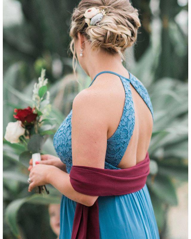 Bridesmaid Hair Inspiration 😍💐 Hair by Jenine 📷 by @brittanybekas  #tamaramakeupandhairartistry