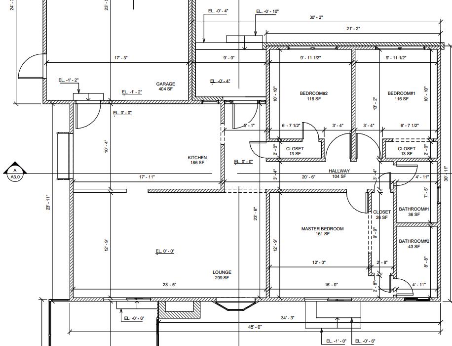 2D Architectural Plans - Delivered in PDF or DWG
