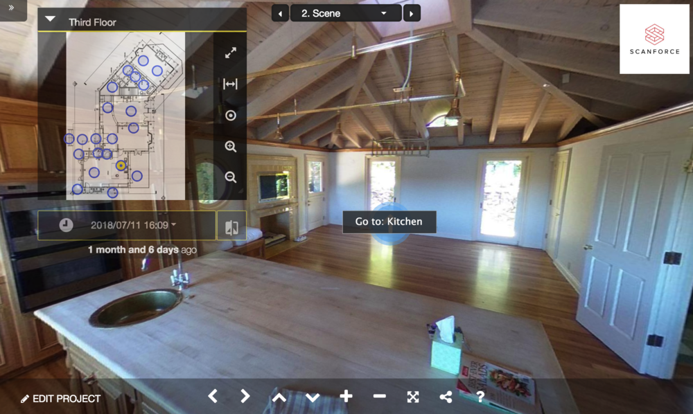 360° Photo Walkthrough - Delivered via web viewer