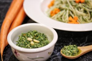 carrot-top-pesto