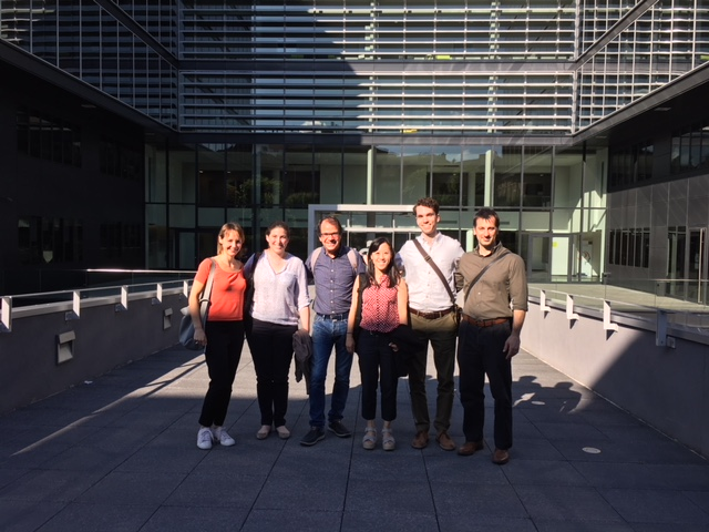Site visit with collaborators at the ICM Institute in Paris