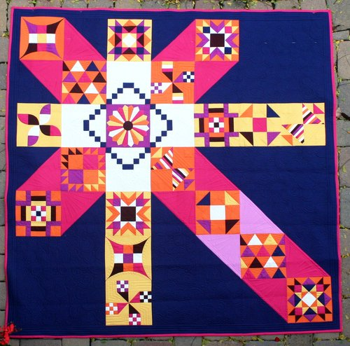 MOCCASIN BLOCK OF THE MONTH SAMPLER Quilt Pattern PDF Download Enchanting Block Of The Month Quilt Patterns