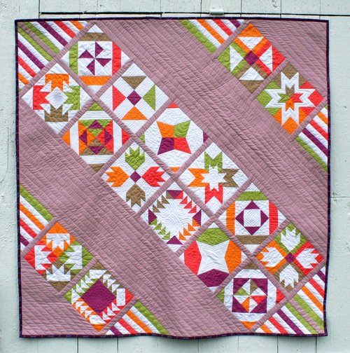 VICE VERSA BLOCK OF THE MONTH SAMPLER Quilt Pattern PDF Download Extraordinary Sampler Quilt Patterns