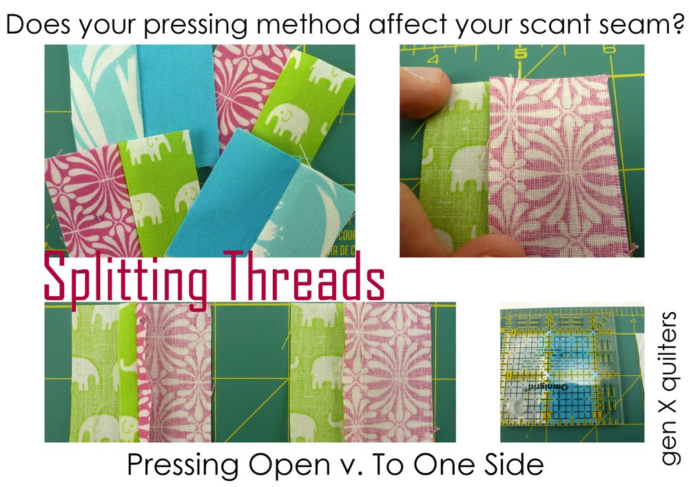 Pressing Seam Allowance