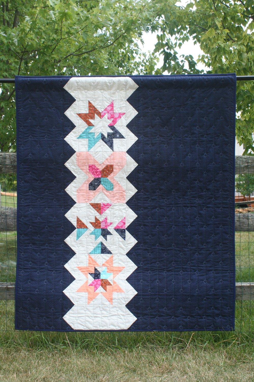 4 Quilt Block Sampler Setting Pattern