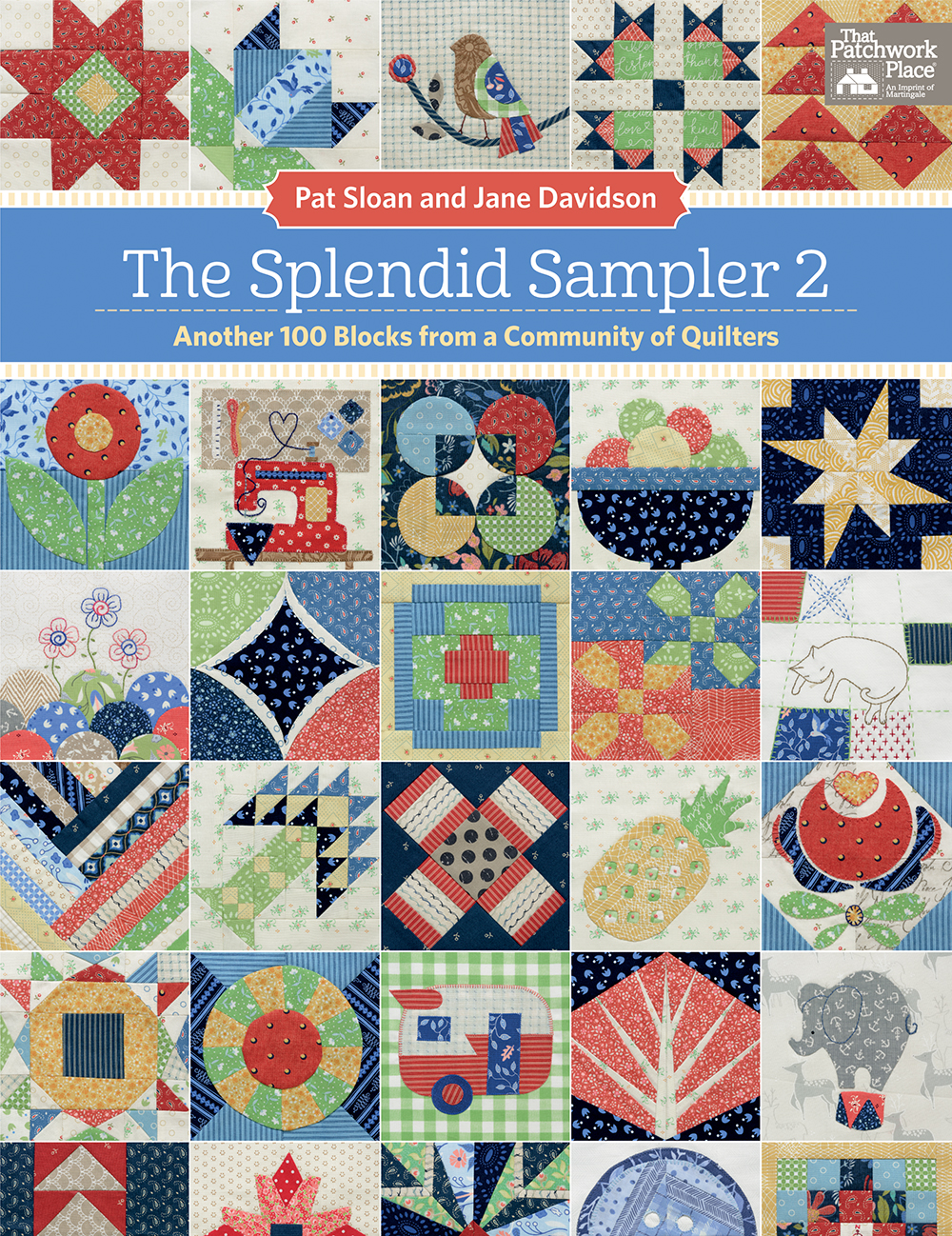 TheSplendidSampler2Book by Pat Sloan and Jane Davidson.jpg