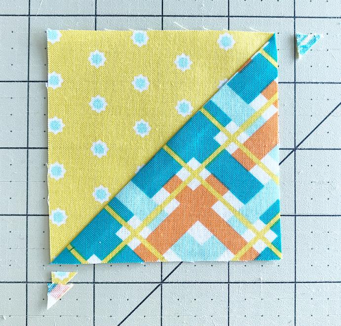 Finished Half Square Triangle.jpeg