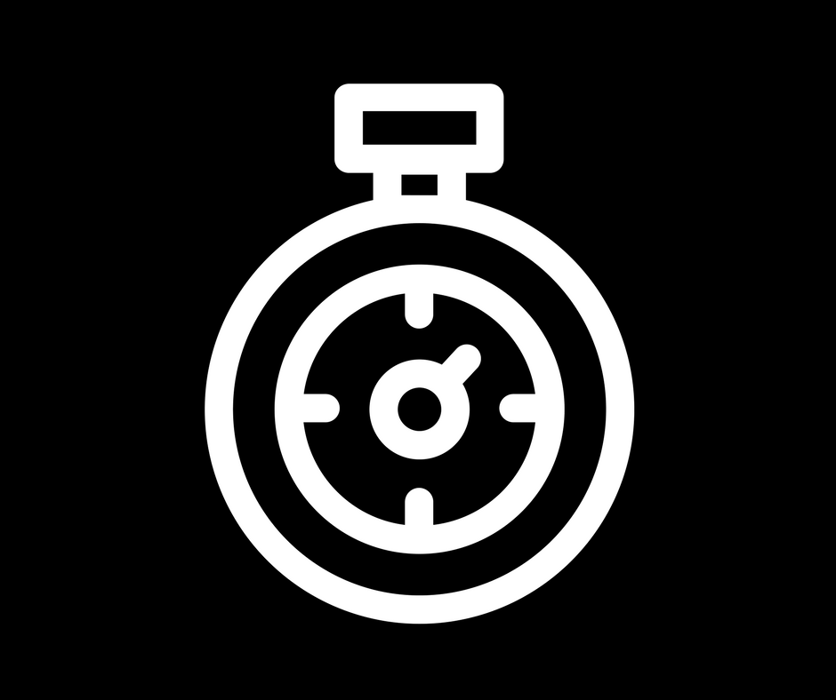 White stopwatch