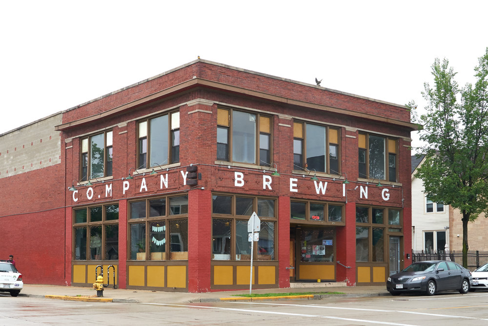 Company Brewing Exterior Photography