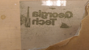 However, acrylic looked awesome on the opposite side of the embossing. Seems like something with potential later.
