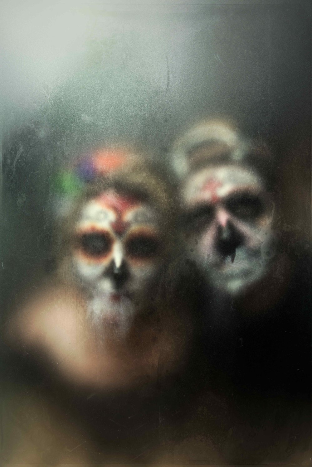 austin-trigg-halloween-spooky-portraits-Día-de-Muertos-lighting-project-personal-scary-makeup-costume-old-fashion-style-fog-glass.jpg
