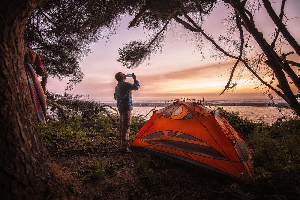 austin-trigg-redwood-water-bottle-tent-camping-beach-sunset-california-adventure-park.jpg