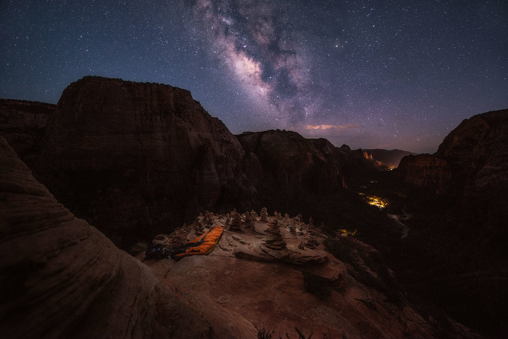 austin-trigg-whiskey-lifestyle-zion-product-Angels-Landing-Night-milky-way-long-exposure.jpg