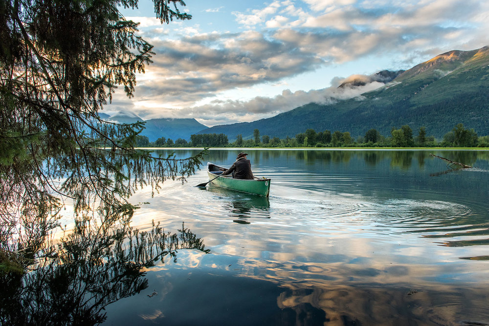 austin-trigg-brave-wilderness-alaska-BW-Coyote-Canoe-mosquito-lake.jpg