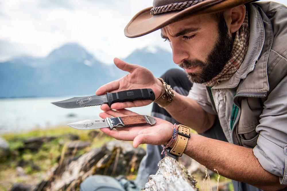 austin-trigg-brave-wilderness-alaska-BW-Coyote-Sog-Knifes.jpg
