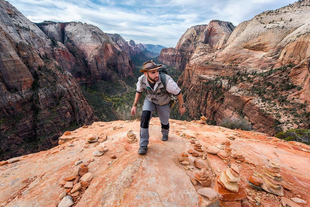 austin-trigg-brave-wilderness-utah-zion-Coyote-peterson-Angels-Landing-hiking.jpg