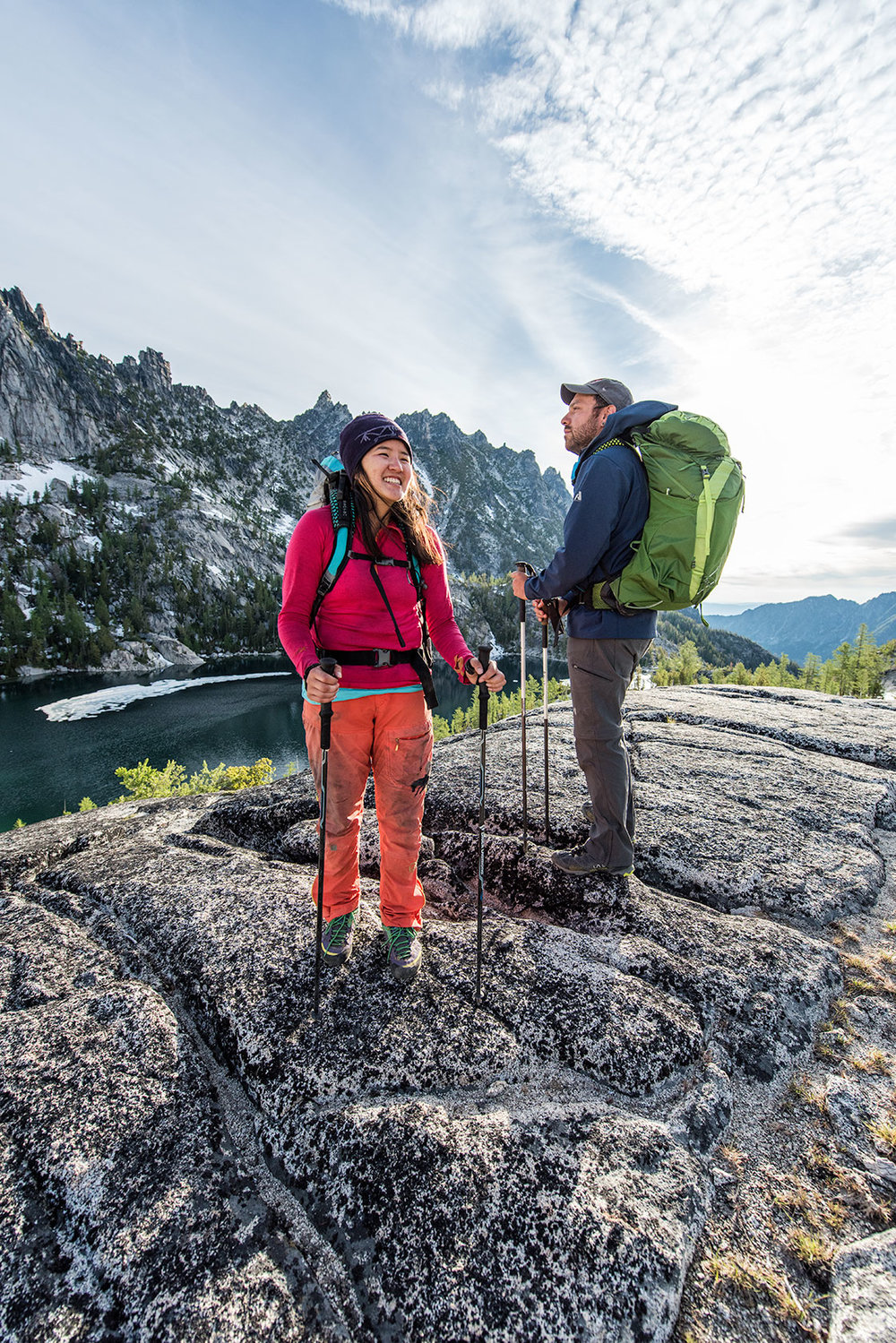 austin-trigg-osprey-hiking-backpacks-hike-camp-washington-adventure-morning-sunrise-lifestyle-outdoor-enchantments-alpine-lake-wilderness-laugh.jpg
