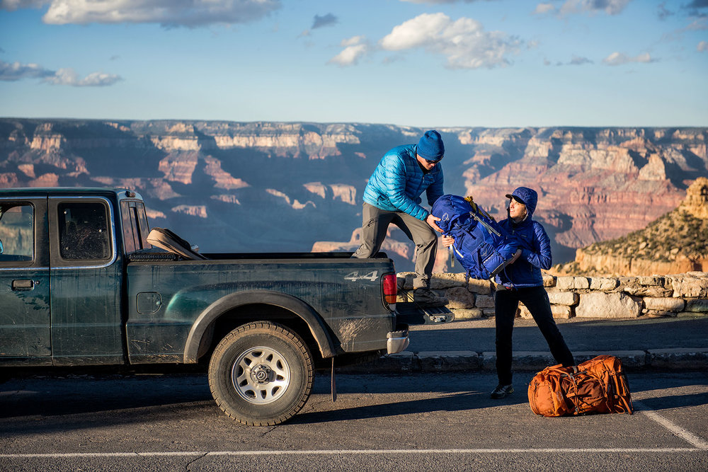 austin-trigg-osprey-hiking-backpacks-grand-canyon-osprey-hike-rim-pack-sunset-arizona-desert-friends-Bag-Truck.jpg