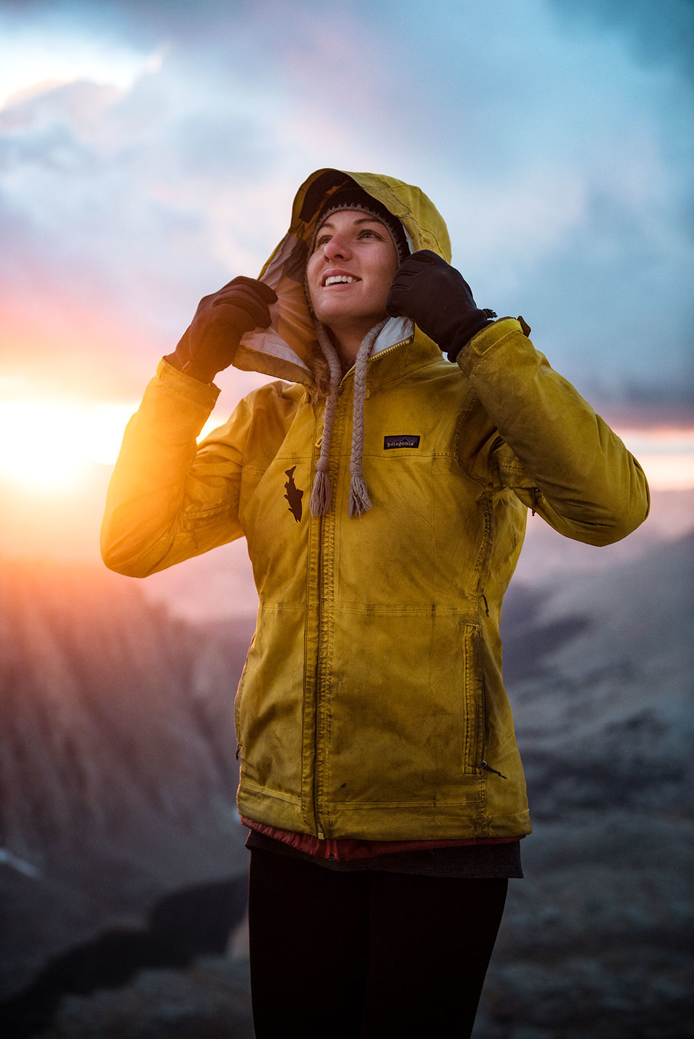 austin-trigg-patagonia-hiking-john-muir-trail-wilderness-california-adventure-outside-camp-sierra-nevada-lifestyle-trail-rest-bivy-hood-jacket-sunset.jpg