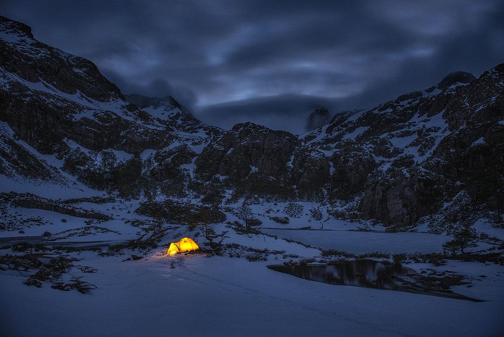austin-trigg-patagonia-adventure-MSR-tent-Lago-del-Salto-Dientes-camping.jpg