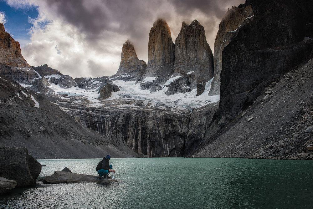 austin-trigg-patagonia-adventure-MSR-water-Torres-del-paine-clouds.jpg