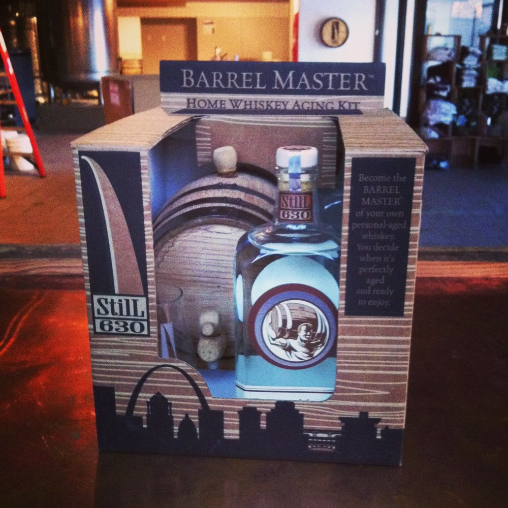 Age your own Whiskey - Get a barrel master kit