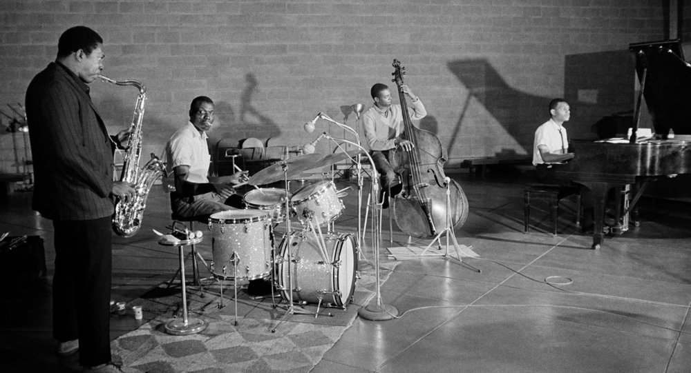 John Coltrane Quartet, photo: Jim Marshall