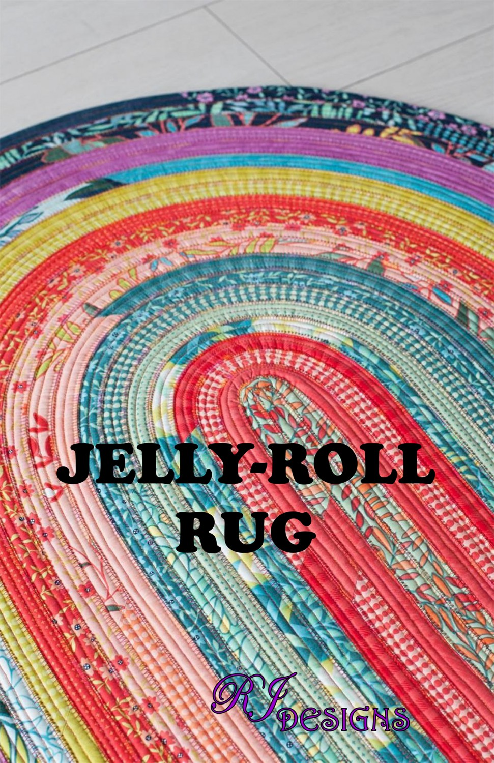 JELLY ROLL PATTERN - Up to three jelly rolls can be shipped for $7.40 USPS Priority. For a limited time, Purchase a regular price jelly roll receive a JELLY ROLL RUG PATTERN free! ($10.00 value).One free pattern per customer. While supplies last.
