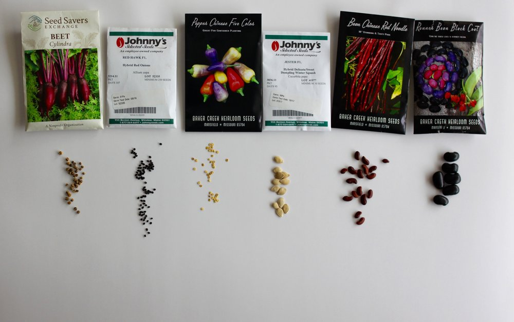 more seeds