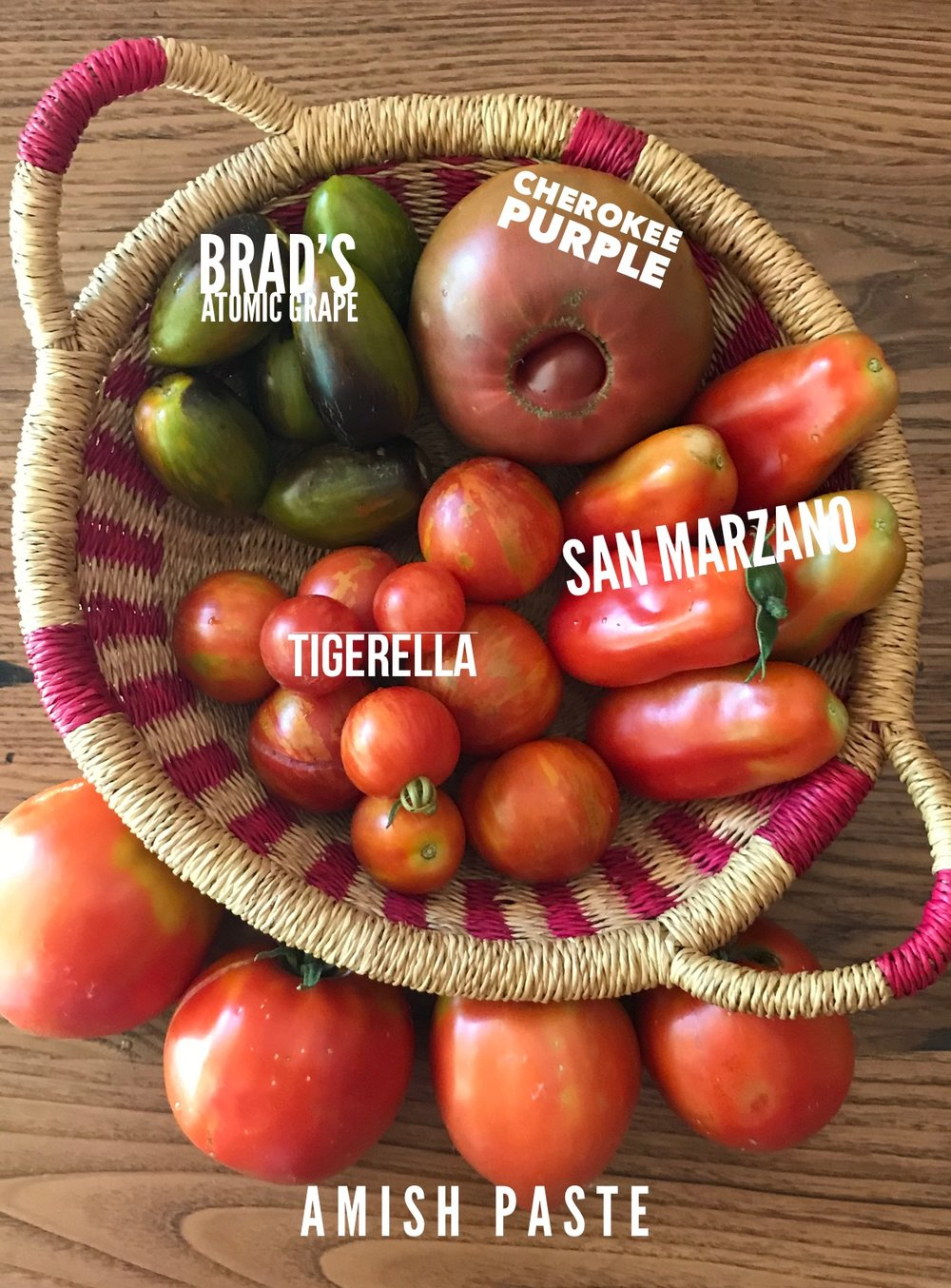 Our 2018 tomato lineup, some old friends and some new varieties. 2019 will be another year of tomato exploration for us as we branch out and seek some new favorites.