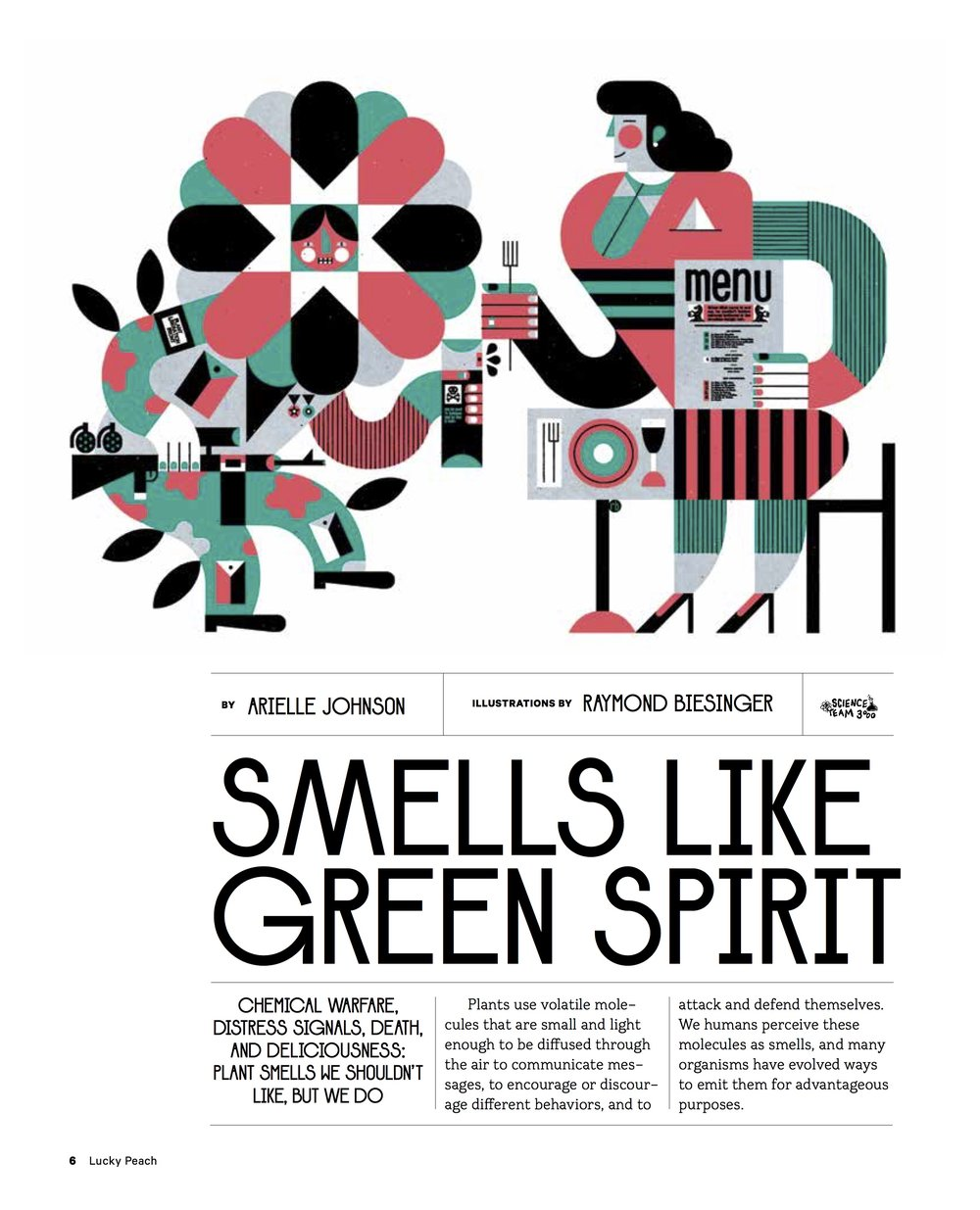 Smells Like Green Spirit - From Lucky Peach: The Plant Kingdom Issueread more