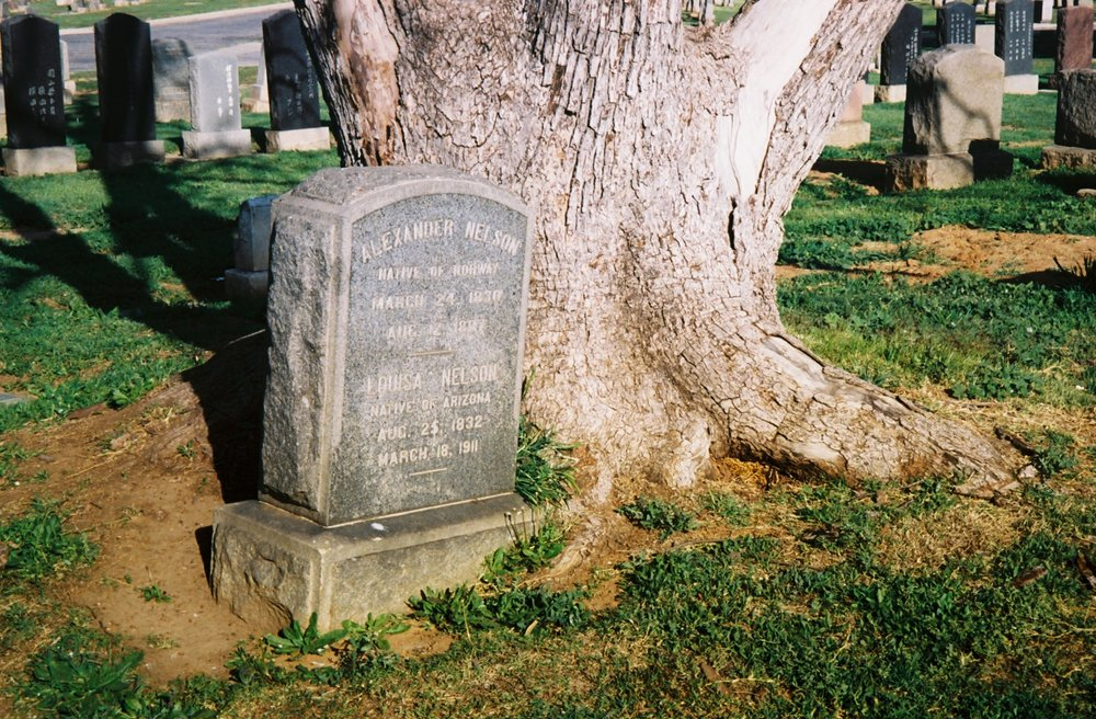 Evergreen Cemetery, in Boyle Heights, is the oldest cemetery in Los Angeles and one of the largest with over 300,000 graves.