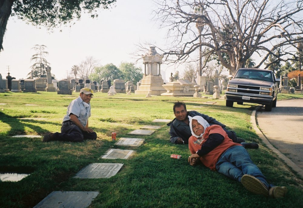 Three Groundskeepers On A Break.jpg