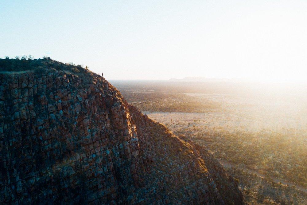 Memory Mountain at sunrise.