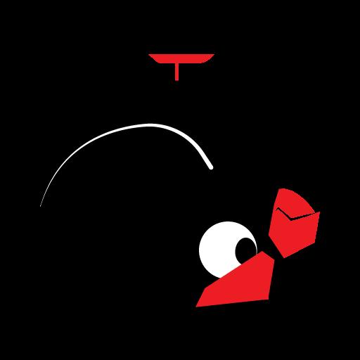 Upside Down Bird