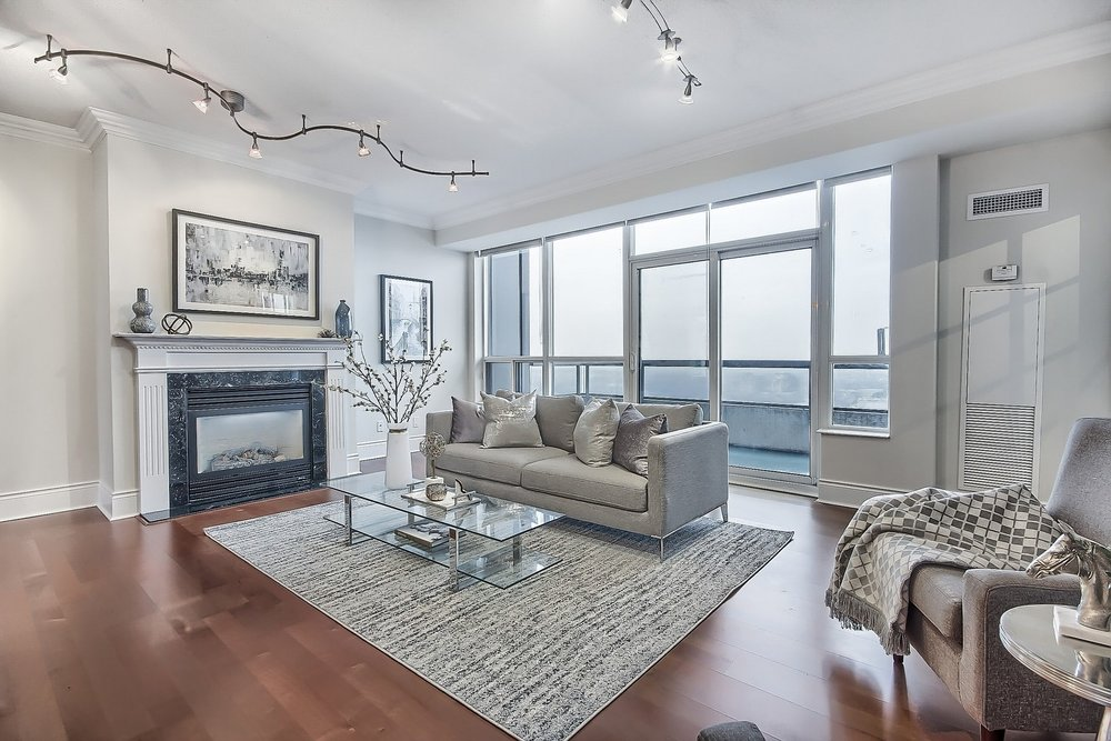 Triomphe Condos North York Toronto vacant condo staging condo home stager | Classy Glam Staging 2