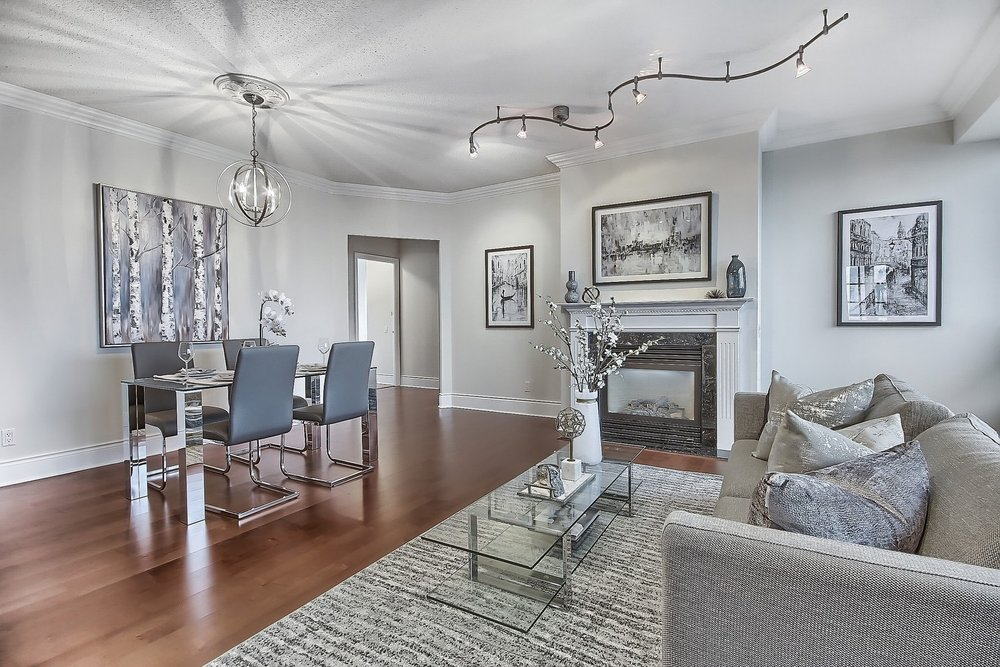 Triomphe Condos North York Toronto vacant condo staging condo home stager | Classy Glam Staging 5