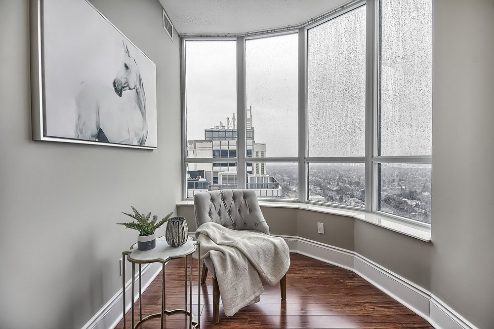 Triomphe Condos North York Toronto vacant condo staging condo home stager | Classy Glam Staging 11