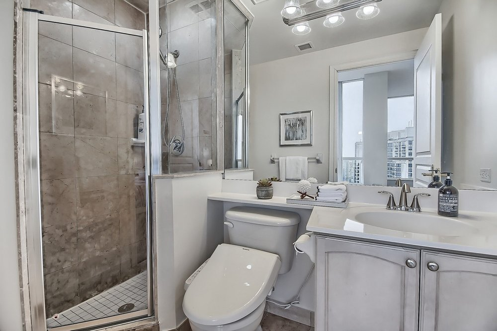 Triomphe Condos North York Toronto vacant condo staging condo home stager | Classy Glam Staging 17