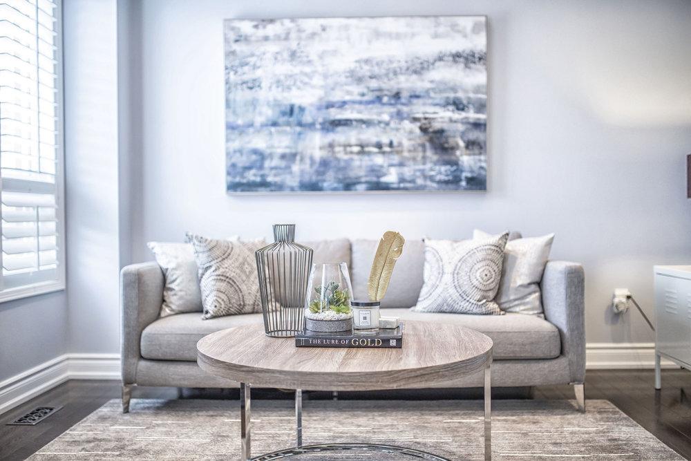 Richard Coulsen Stouffville luxury home staging luxury home stager   Classy Glam Staging 6