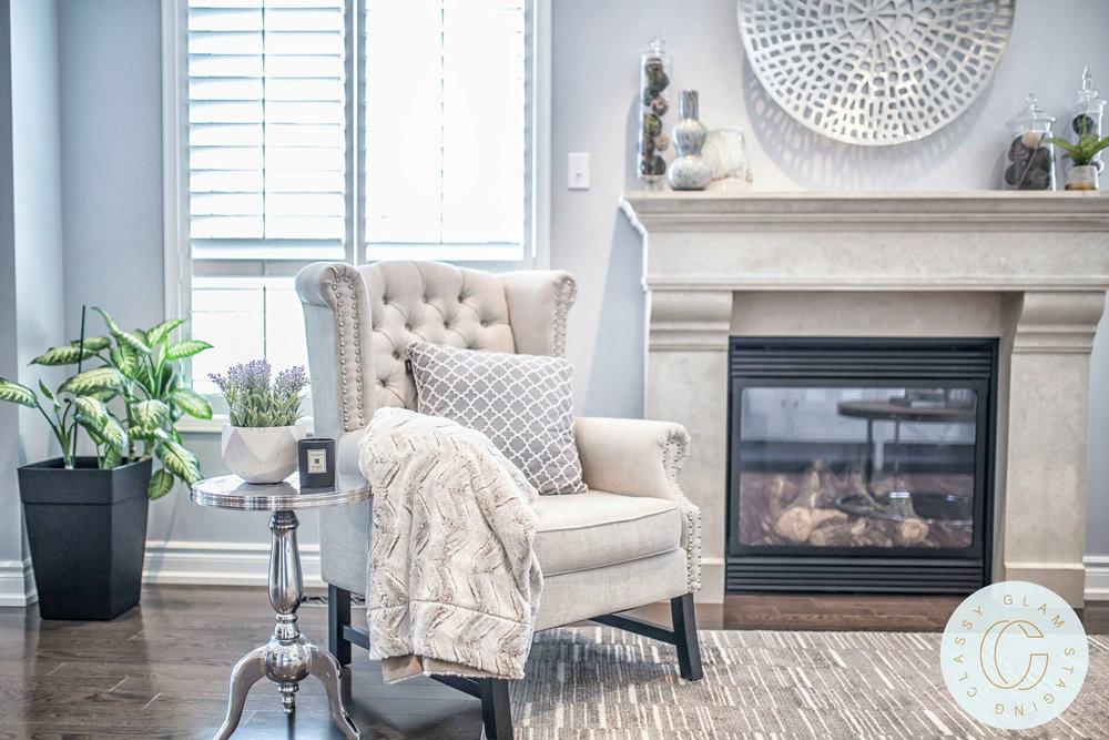 Richard Coulsen Stouffville luxury home staging luxury home stager   Classy Glam Staging 7