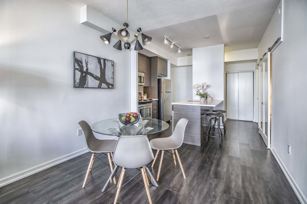 Emerald City II Toronto GTA North York vacant condo staging home stager | Classy Glam Staging 4