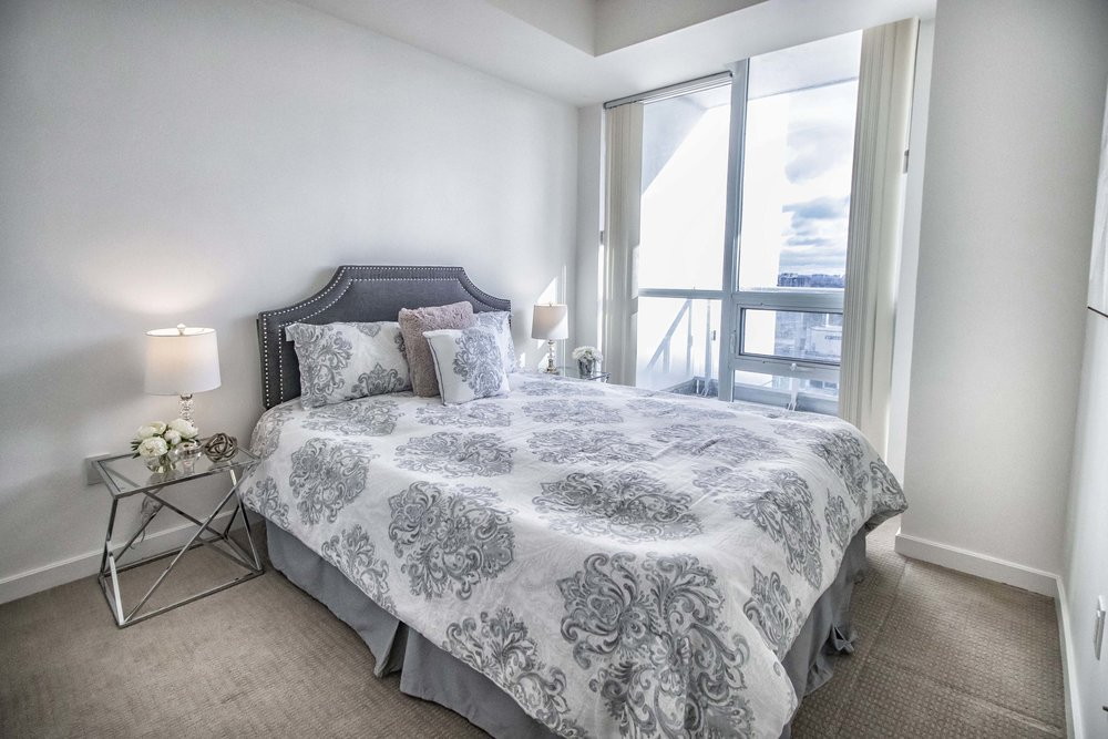 Emerald City II Toronto GTA North York vacant condo staging home stager | Classy Glam Staging 7