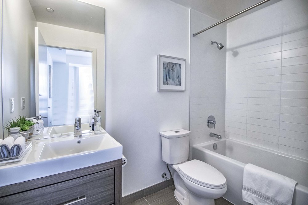 Emerald City II Toronto GTA North York vacant condo staging home stager | Classy Glam Staging 8