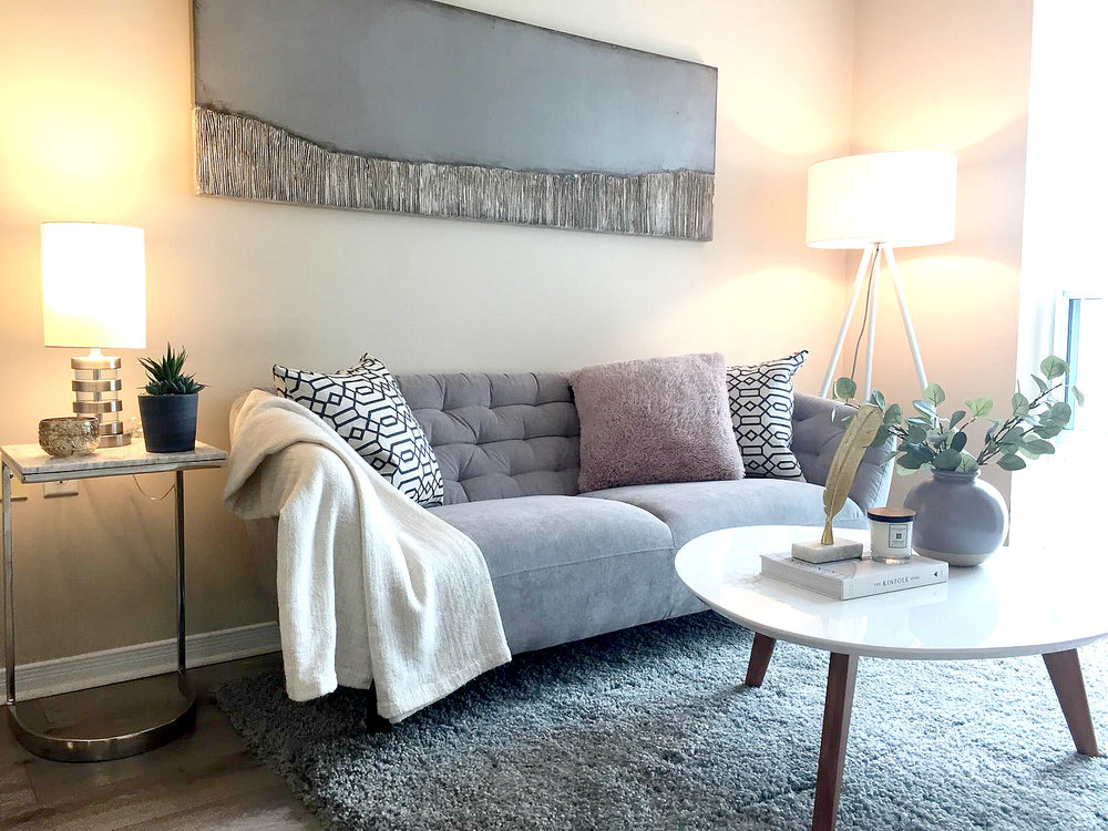 Princess Place III Condo North York vacant condo staging | Classy Glam Staging 4